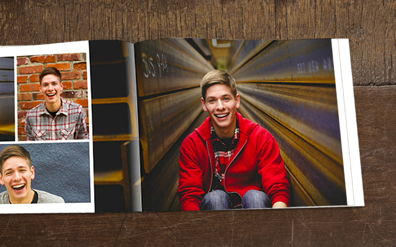 Wyatt's Graduation Photo Book
